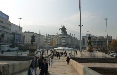 skopje makedonija sonce