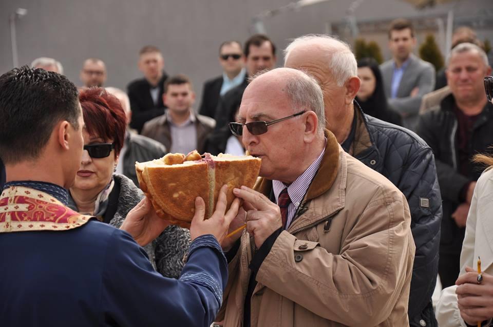 Mincho Jordanov na proslavata na Sv. Trifun