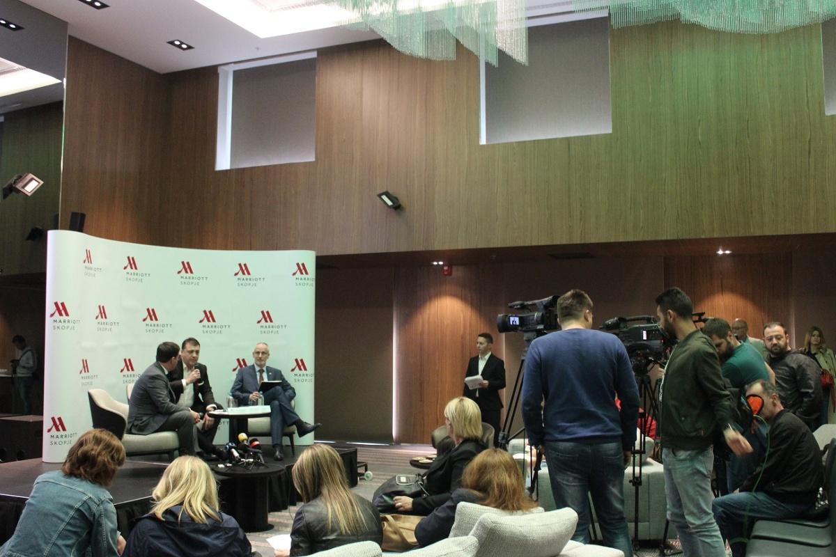 Marriott Skopje_Pres konferencija_1