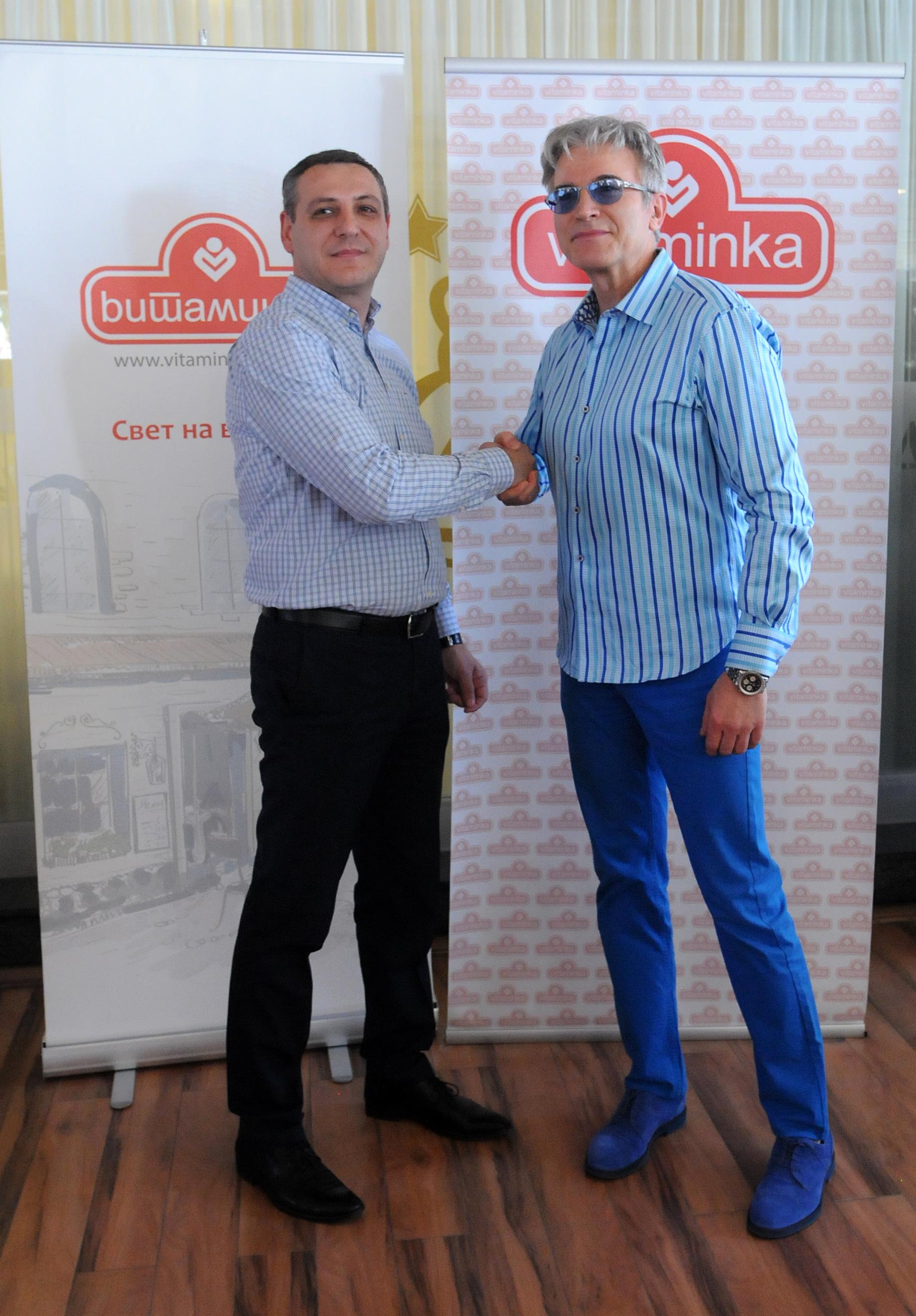 Vladimir Trpanoski, Komercijalen direktor na Vitaminka i Vlado Janevski