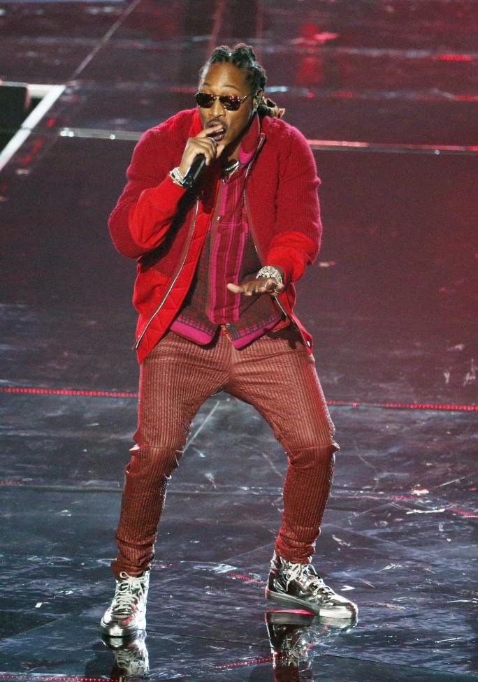Future performs during the 2016 MTV Video Music Awards in New York