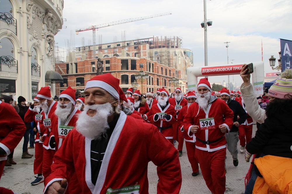 Прогласени победниците од третата Дедомразовска трка