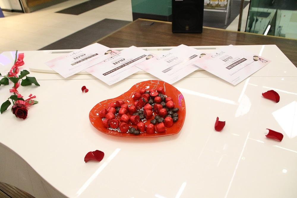 Љубовта пред тест во Капитол Мол