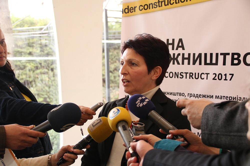 Најавен 14. Меѓународен саем на градежништво, градежни материјали и градежна механизација