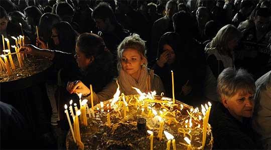Велика Сабота, денот меѓу смртта и воскресението
