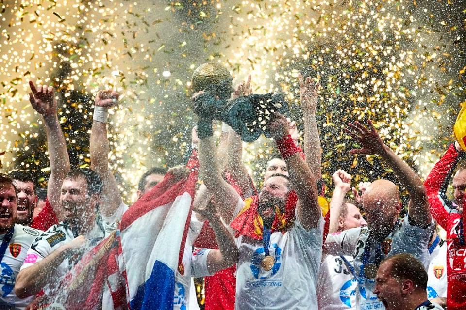 НИЕ СМЕ ШАМПИОНИ: Моменти од прогласувањето на европскиот првак Вардар (ФОТОГАЛЕРИЈА)
