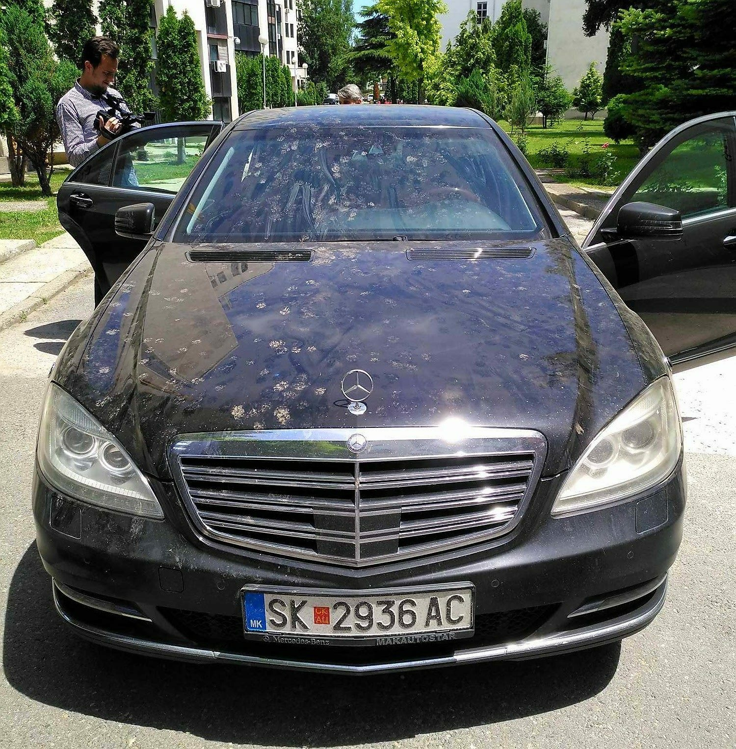 Министерот Спасовски го покажа на јавноста мерцедесот од 600.000 евра