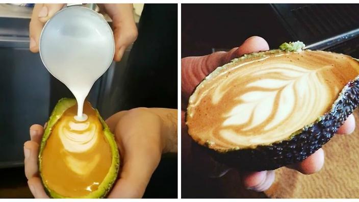 ЛЕТЕН ТРЕНД: Поинаков начин на служење кафе (ФОТО)