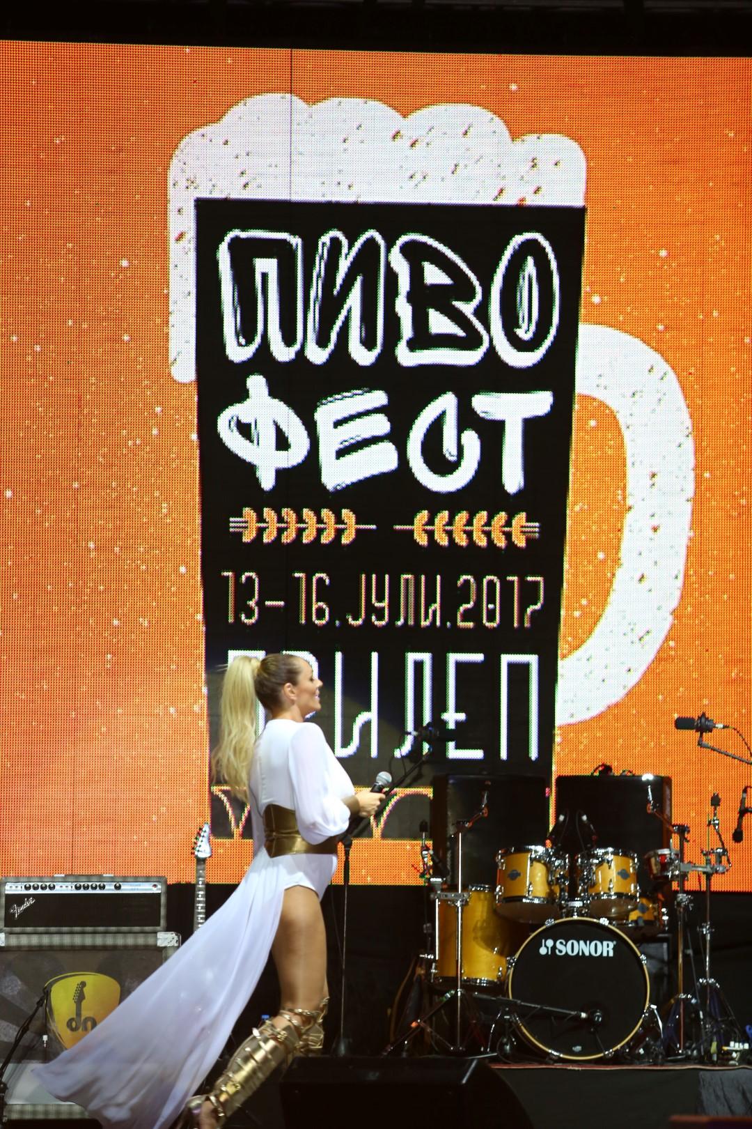 """Третата фестивалска вечер на """"Пивофест"""" во ритамот на Анабела и Харис Џиновиќ (ФОТОГАЛЕРИЈА)"""