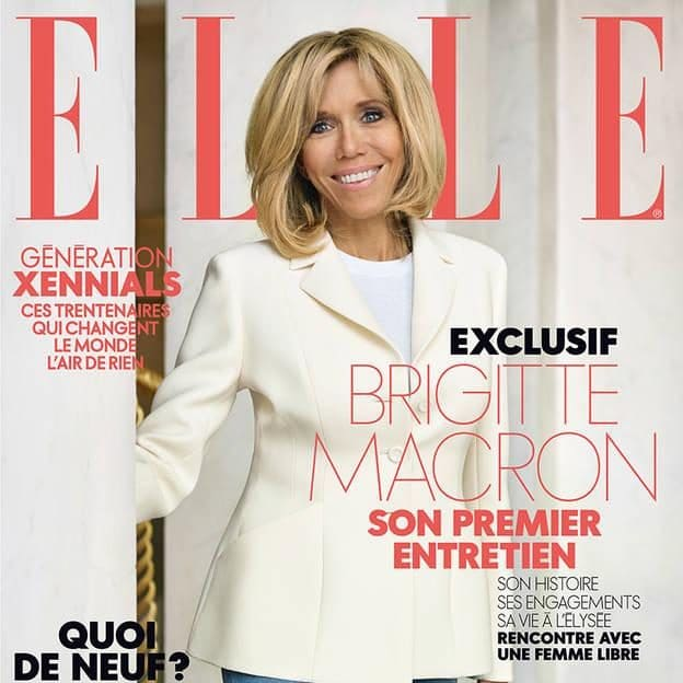"""Рекордна продажба на списанието """"Ел"""" поради интервјуто со Бриџит Макрон"""