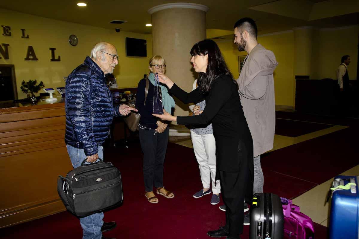 Легендарниот кинематографер Пјер Лом воодушевен од македонската културна традиција