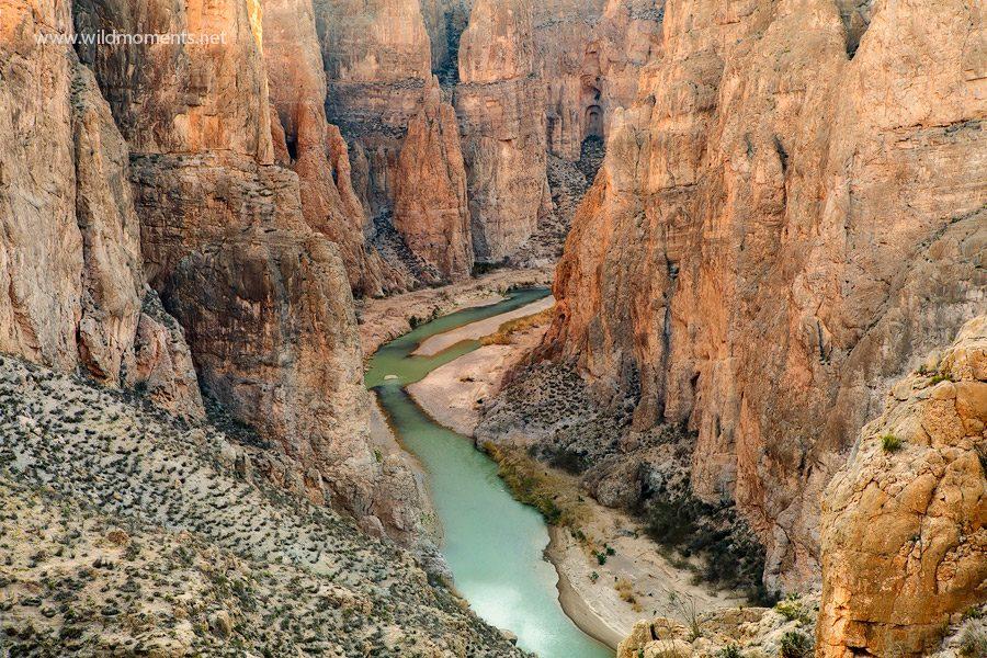 НЕДОПРЕНАТА ДИВИНА НА САД  Кањонот Рио Гранде