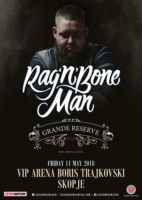 Rag`n`Bone Man во Скопје на 11-ти мај!