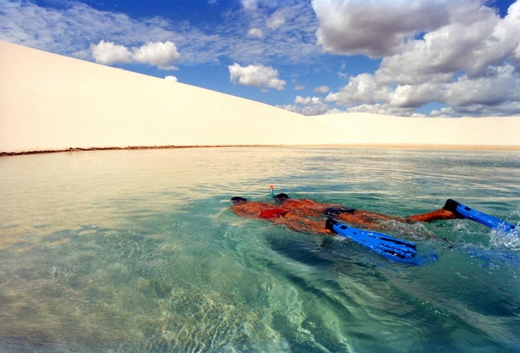 Ленсојс Маринјенсис - прекрасен природен парк со песочни дини и сини лагуни