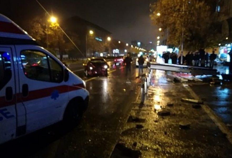 Тешка сообраќајна несреќа на  Партизанска   нема жртви