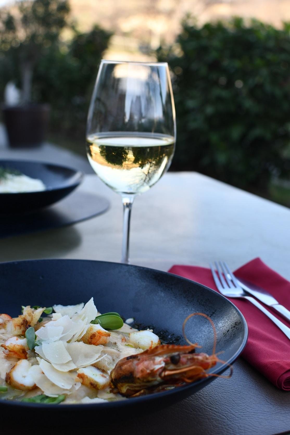 ravioli with lobster
